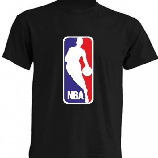 CAMISETA NBA NEGRA