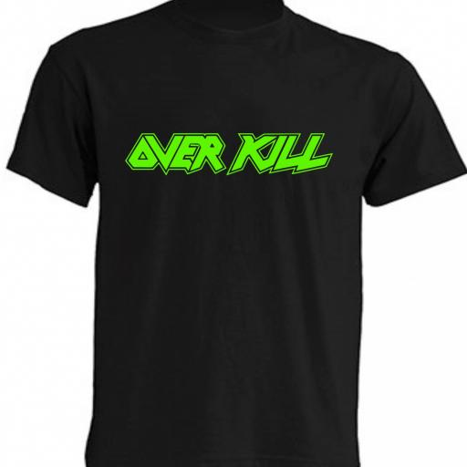 CAMISETA OVER KILL