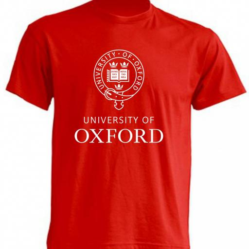 CAMISETA OXFORD UNIVERSITY