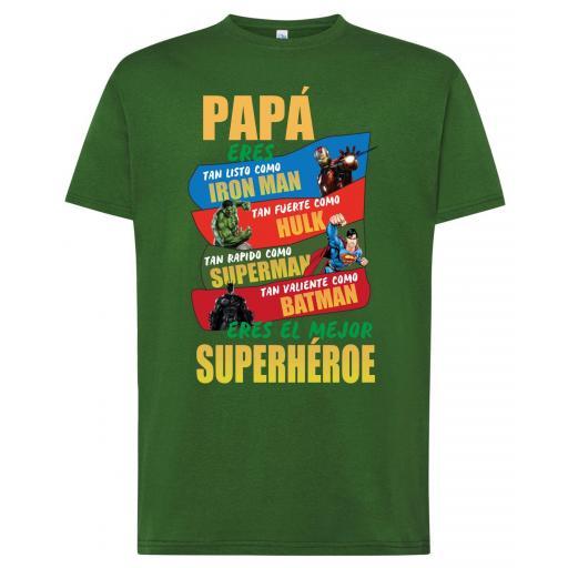 Camiseta Día del Padre - Papa eres...