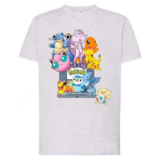 Camiseta Pokemon Game Boy