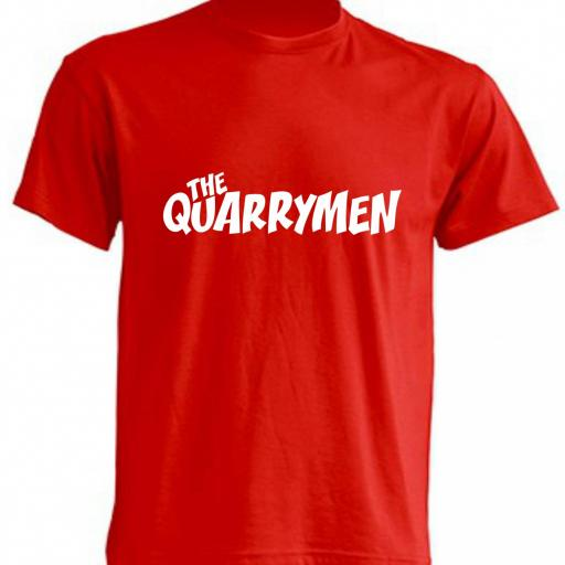 CAMISETA THE QUARRYMEN