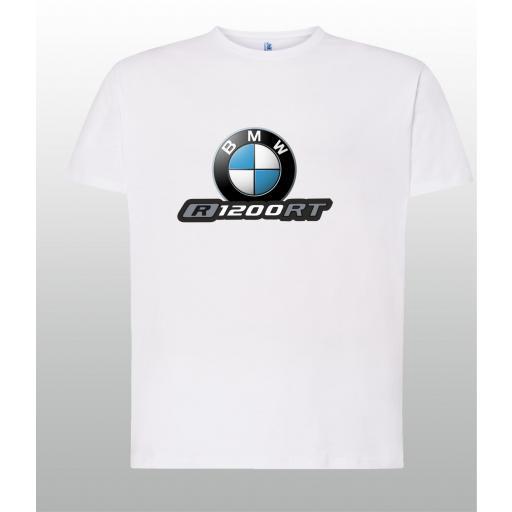 CAMISETA BMW R1200RT - VARIOS COLORES Y TALLAS