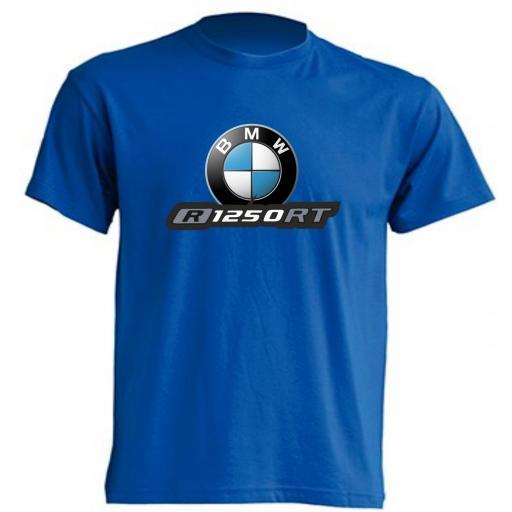 CAMISETA BMW R1250RT - VARIOS COLORES Y TALLAS