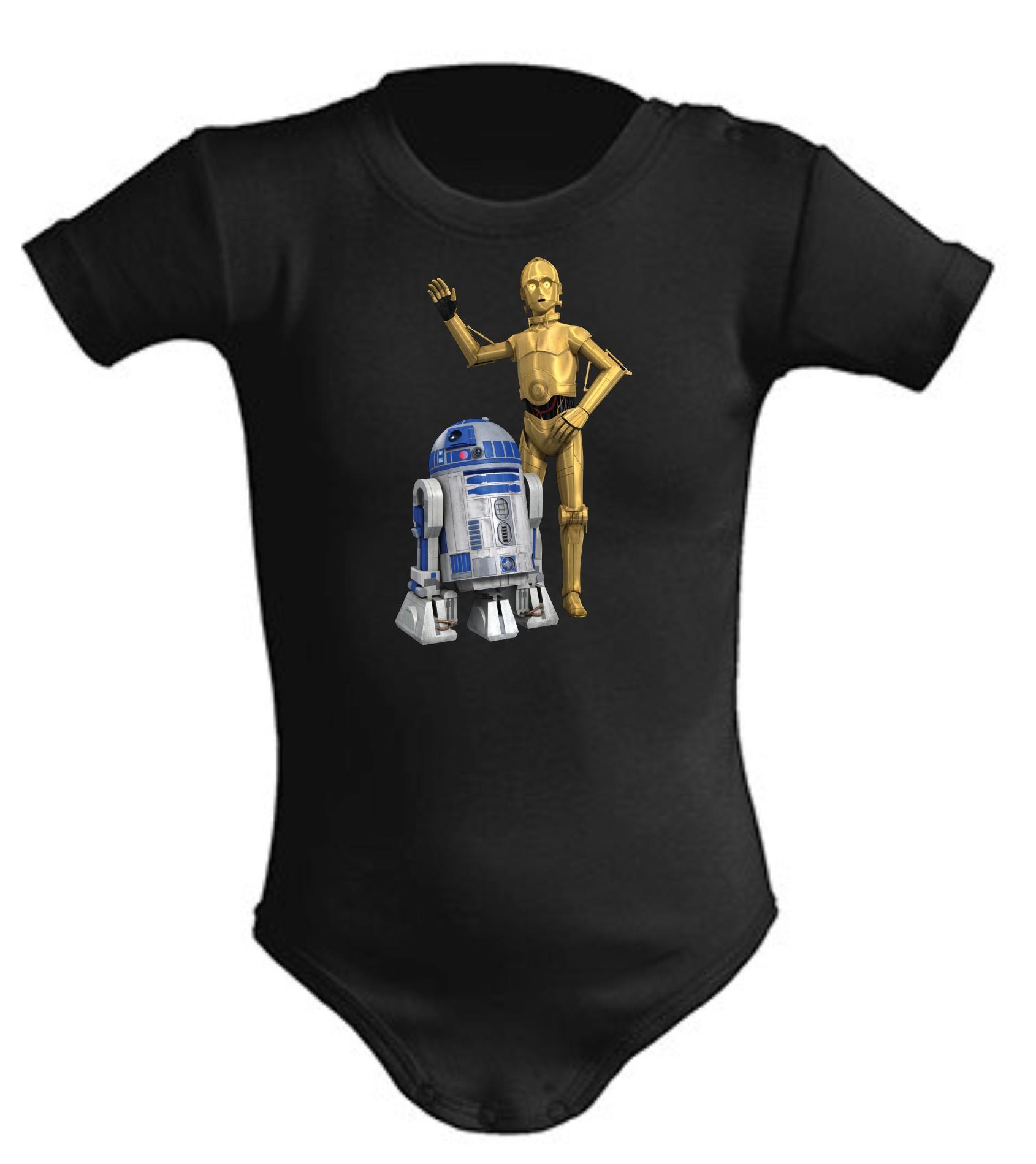 Body de bebe r2d2 y c3po Star Wars