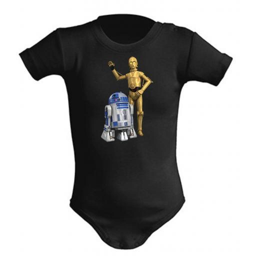 Body de bebe r2d2 y c3po Star Wars [0]