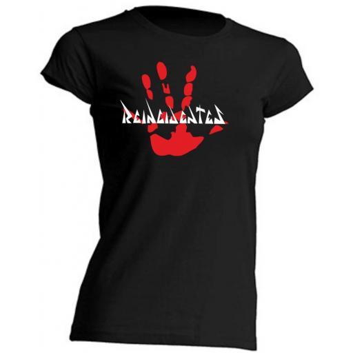 Camiseta de Chica Reincidentes Mano