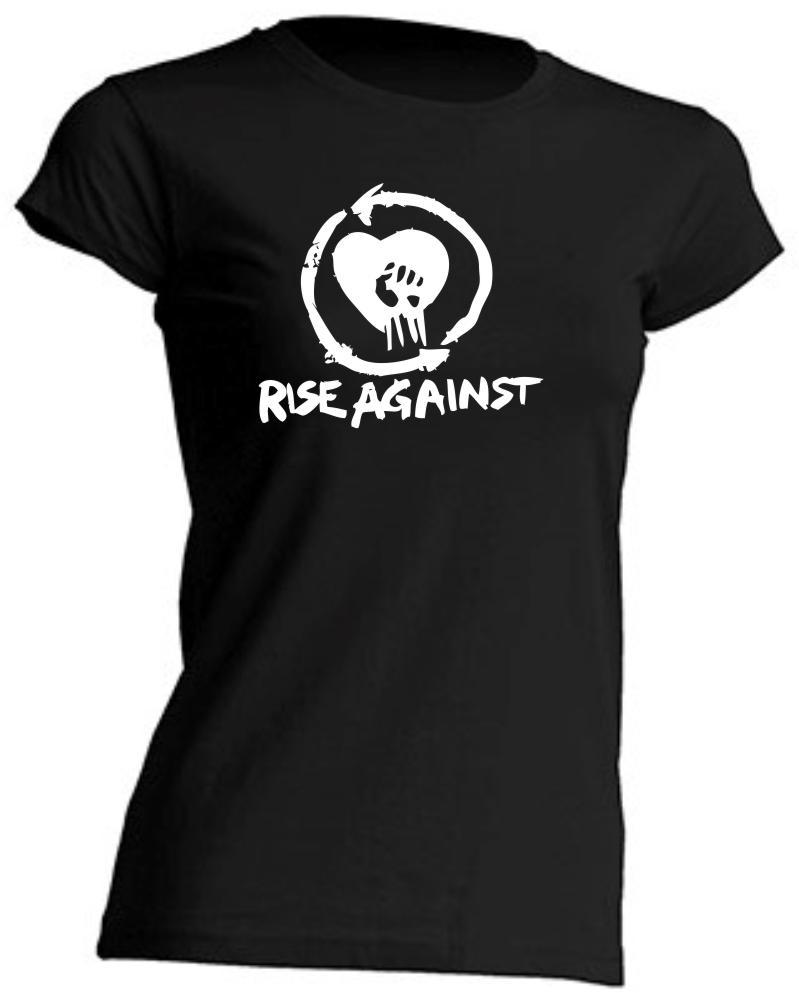 Camiseta de Chica Rise Against