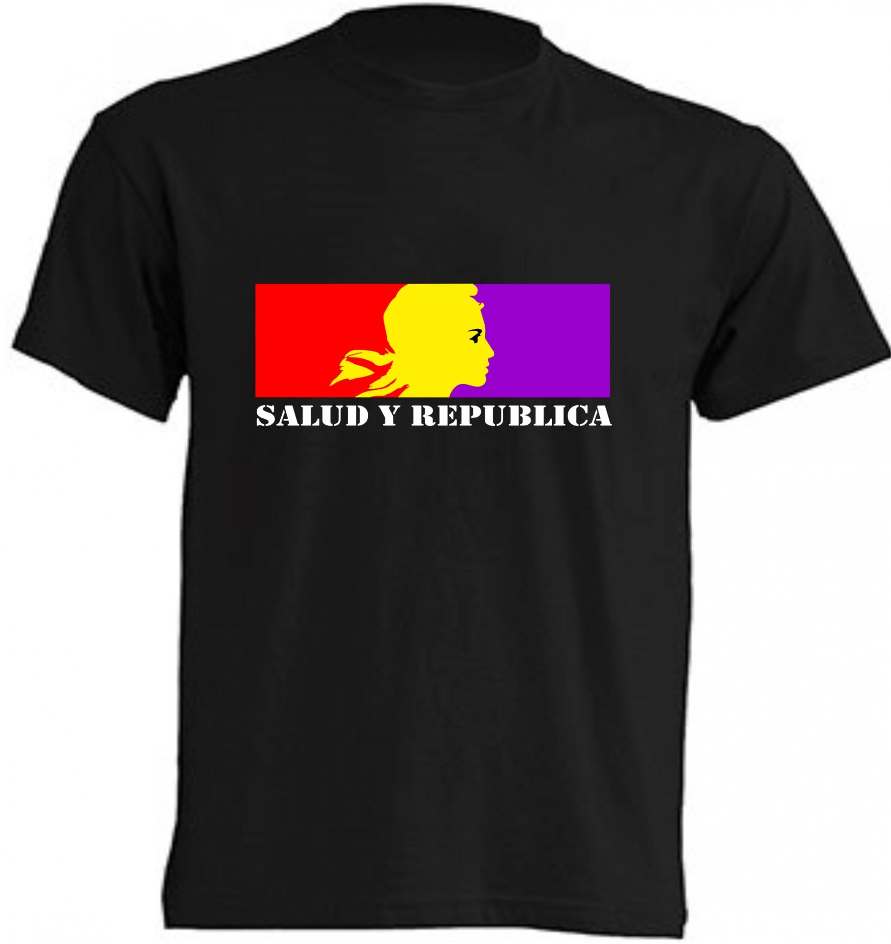 CAMISETA SALUD Y REPUBLICA
