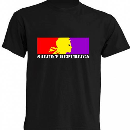 CAMISETA SALUD Y REPUBLICA