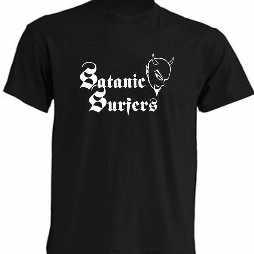 CAMISETA SATANIC SURFERS