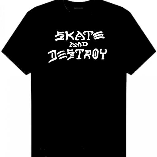 CAMISETA SKATE AND DESTROY