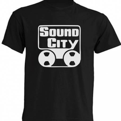 CAMISETA SOUND CITY