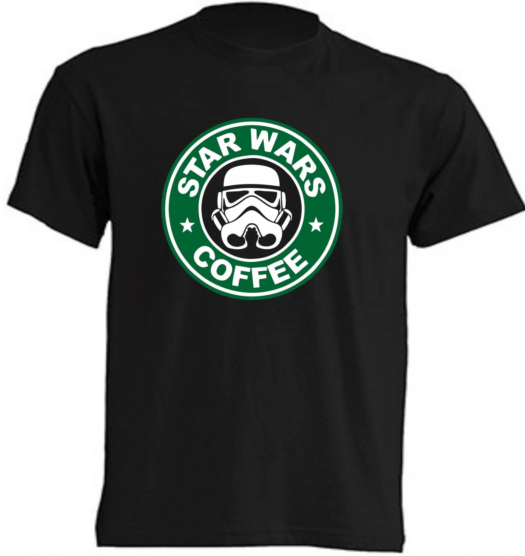 CAMISETA STARWARS COFFEE
