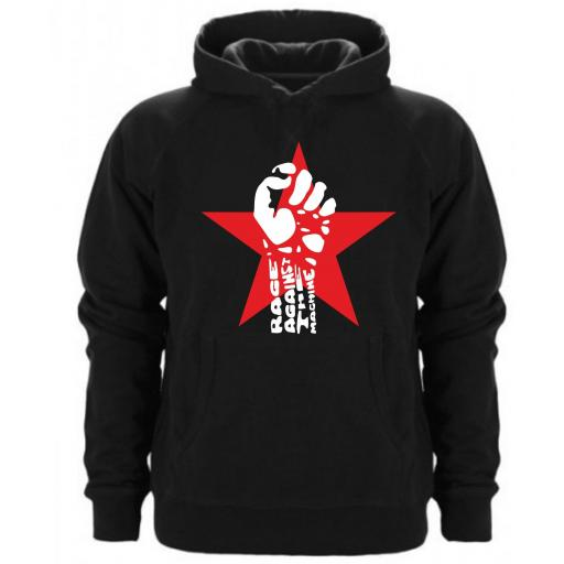 Sudadera Capucha Rage Against the Machine