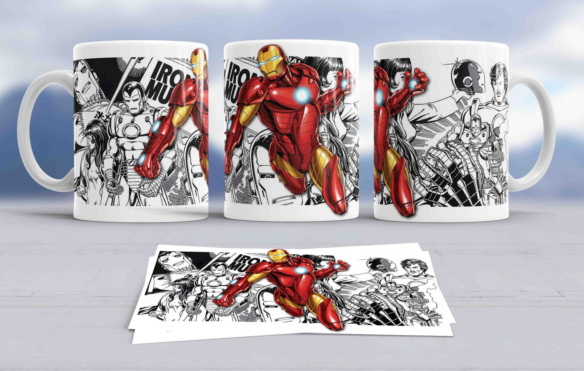 Taza Iron Man (127)