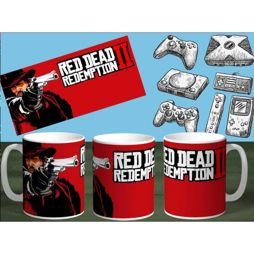 Taza Red Dead Redemption (170)