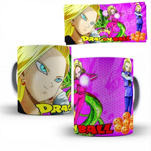 Taza Dragon Ball  (354)