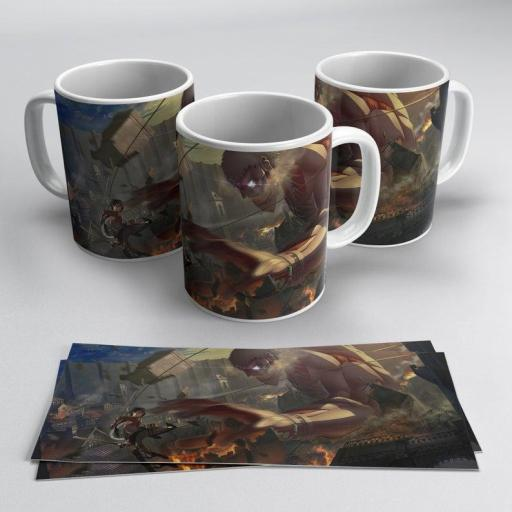 Taza Attack on Titan - Shingeki No Kyojin (369)
