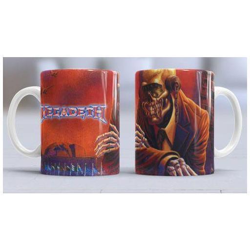 Taza Megadeth - (378)