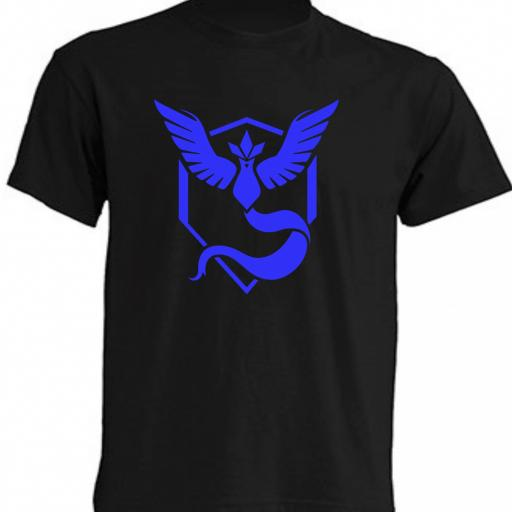 CAMISETA TEAM MYSTIC POKEMON GO