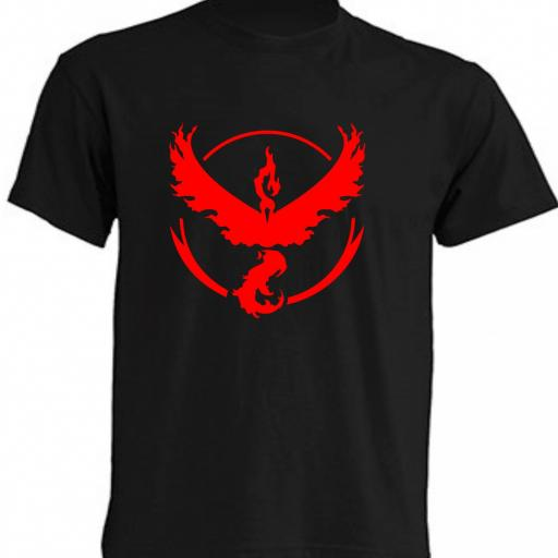 CAMISETA TEAM VALOR POKEMON GO