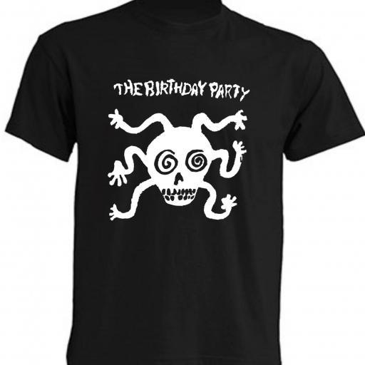 CAMISETA THE BIRTHDAY PARTY