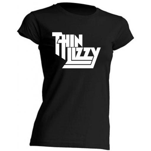 Camiseta de Chica Thin Lizzy