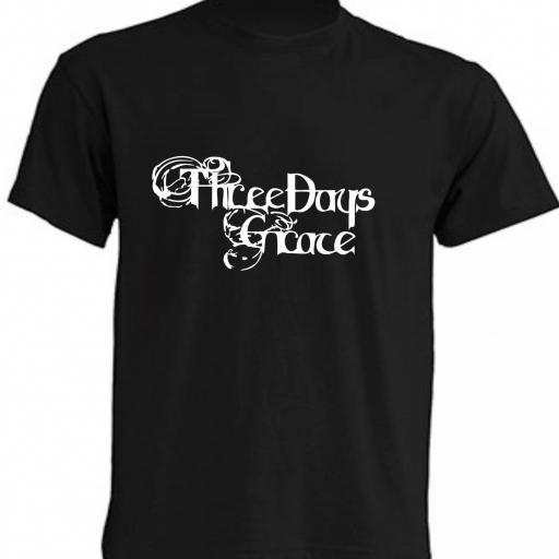 CAMISETA THREE DAYS GRACE