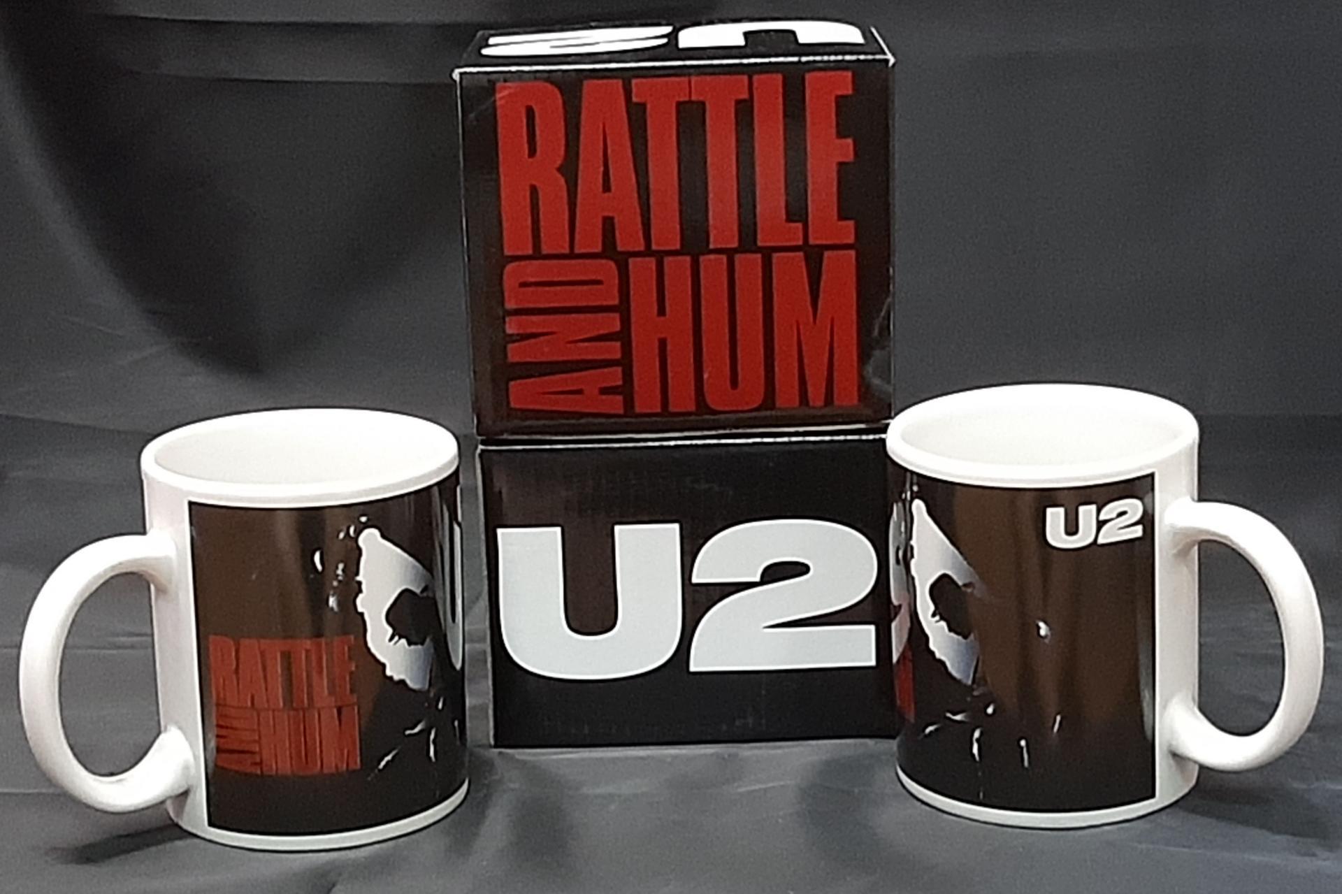 Taza U2 Rattle and Hum