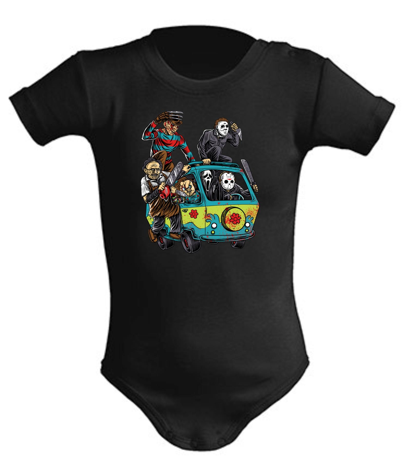 Body de bebe Malos Van