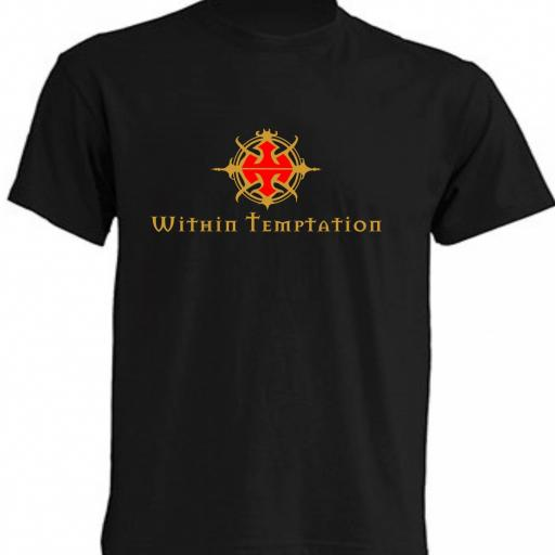 CAMISETA WHITHIN TEMPTATION