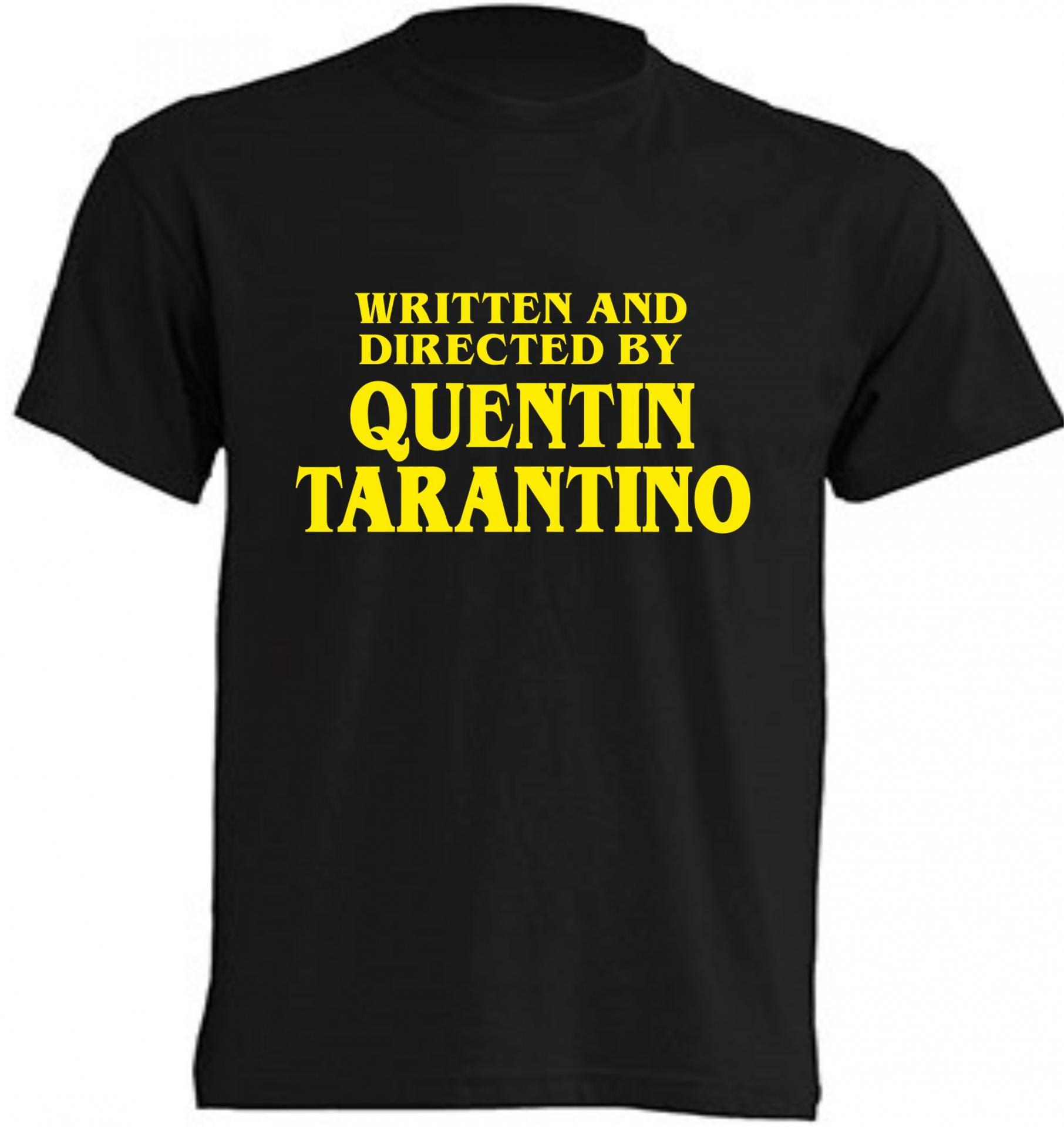 Camiseta Escrita y Dirigida por Quentin Tarantino