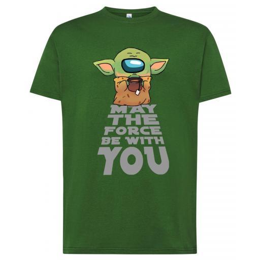 Camiseta Among Us Yoda
