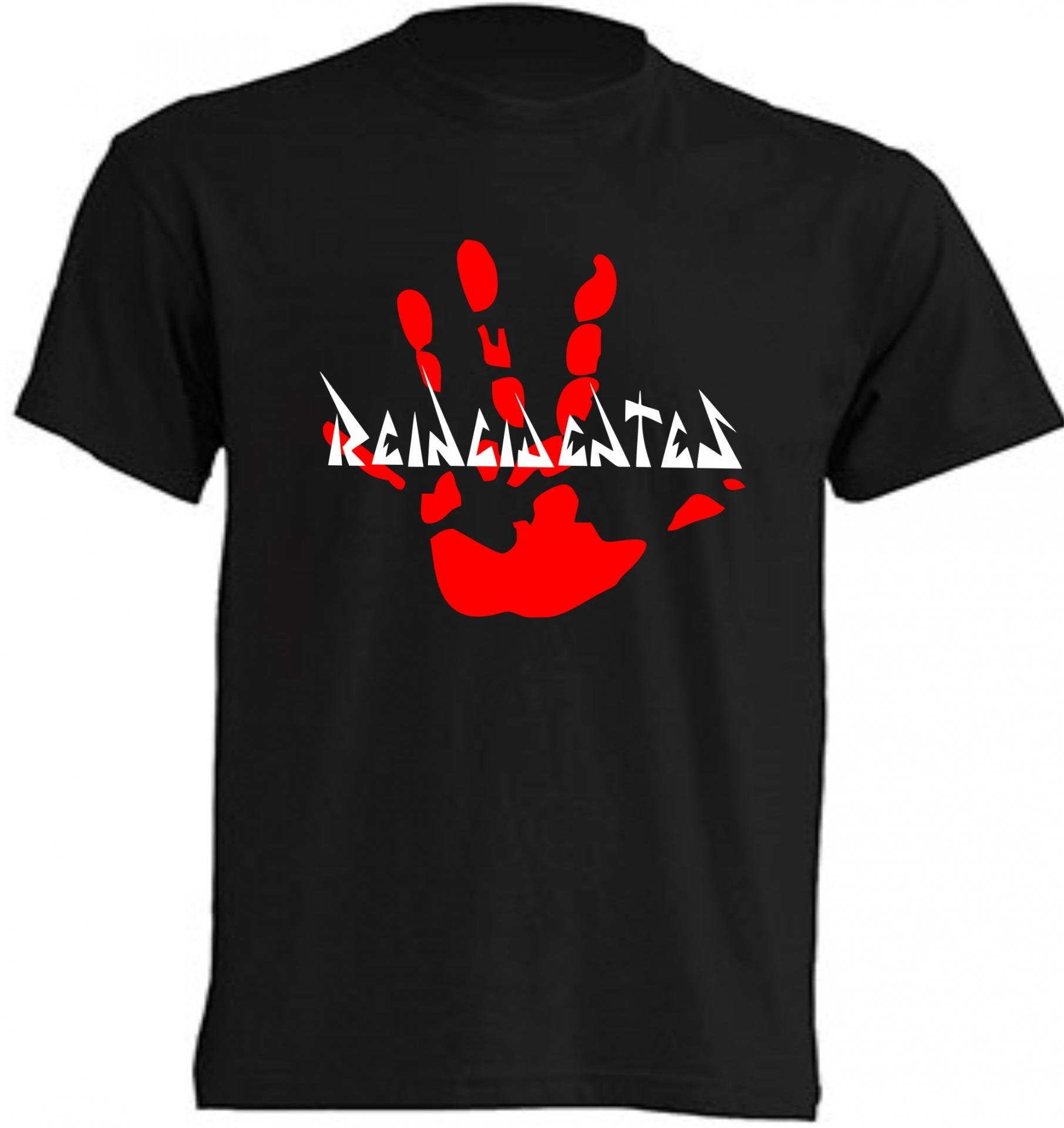 camisa reincidentes grupo de rock