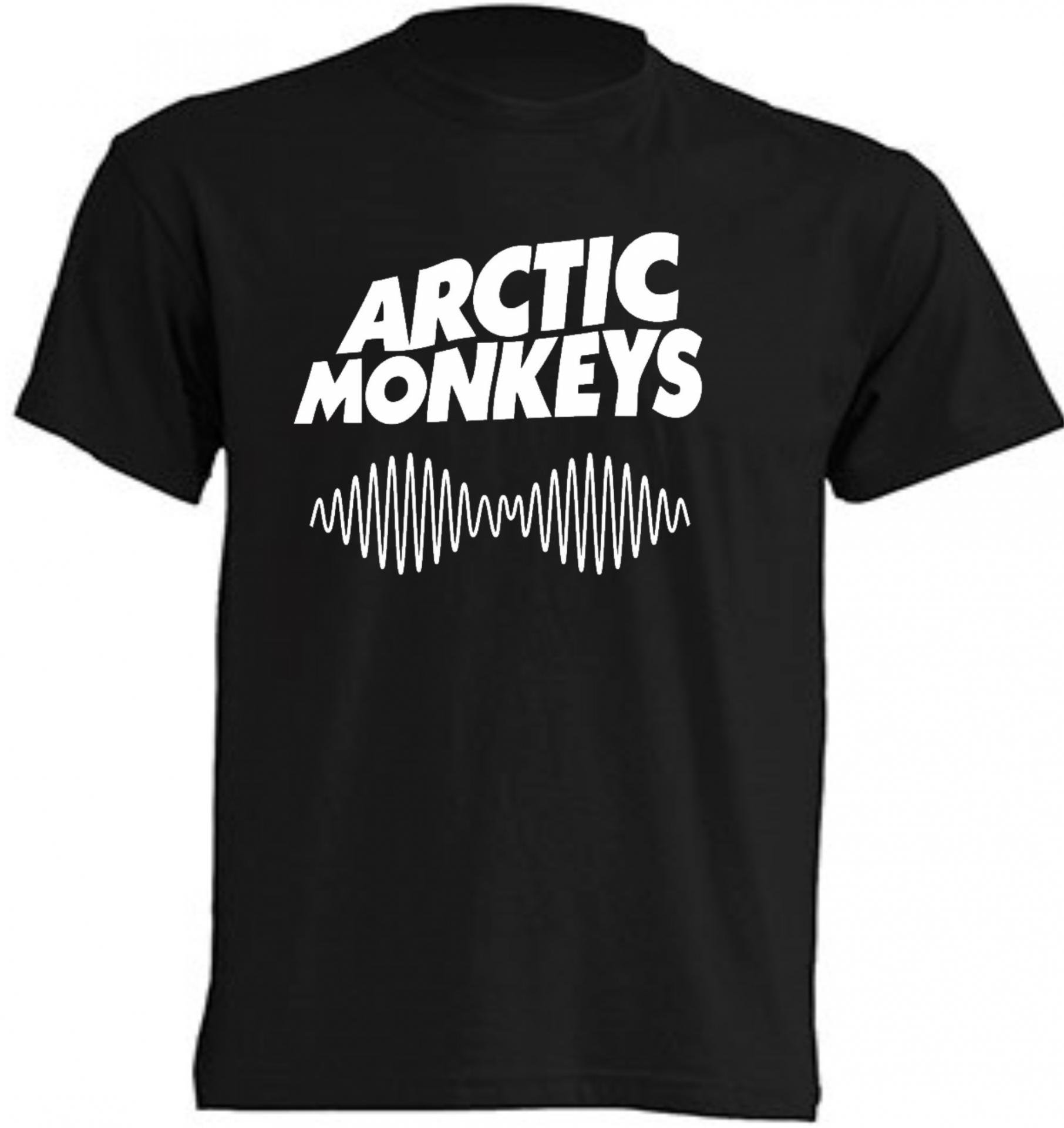camiseta arctic monkeys hombre