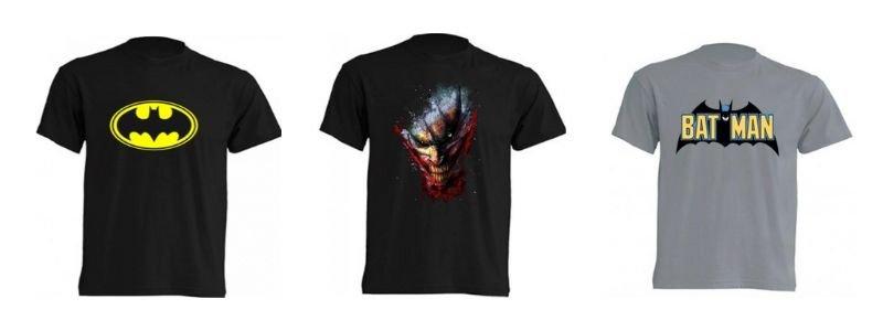 Camiseta Batman y Joker DC Comics