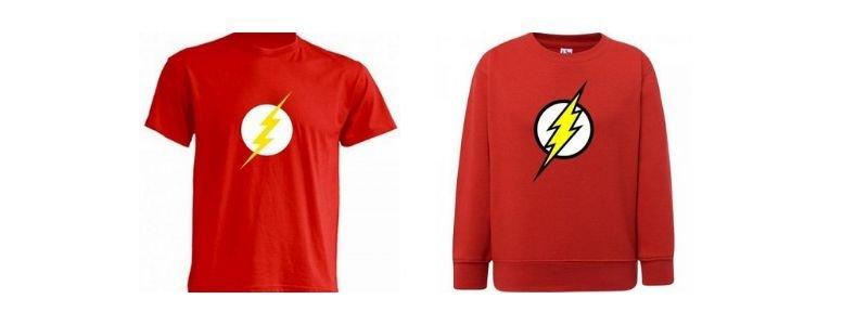 Camisetas Flash