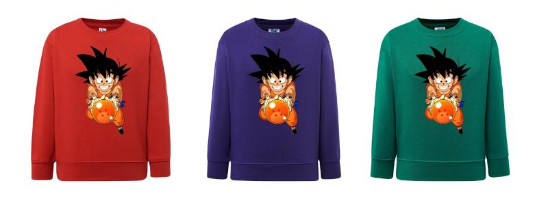 Sudadera Dragon Ball Goku Niño
