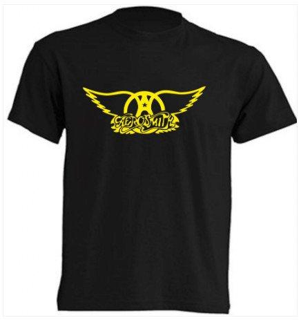 camiseta aerosmith rock