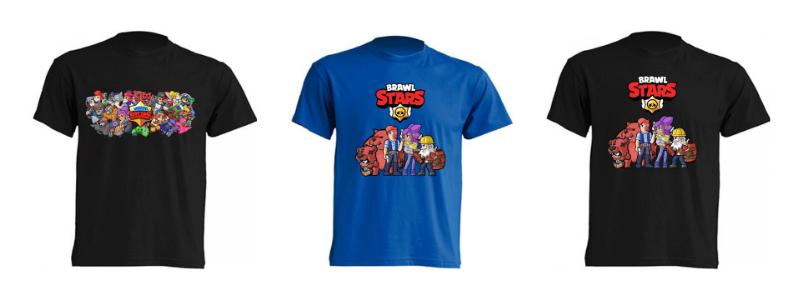 Ropa Gammer, camiseta Brawl Stars