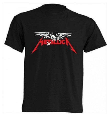 metallica camiseta rockera barata online