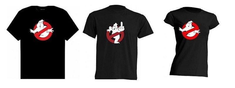 Camisetas los cazafantasmas