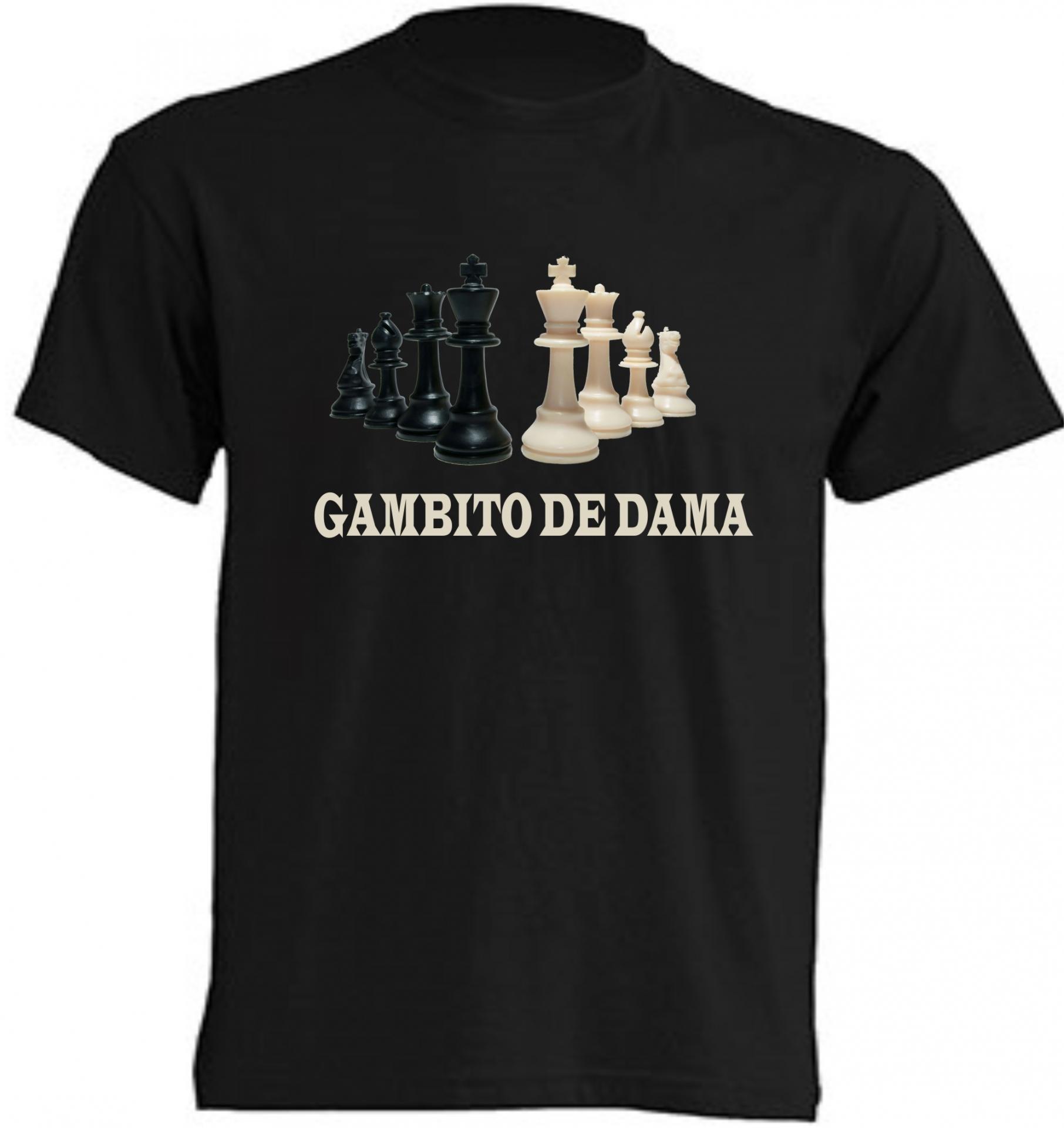 gambito de dama camiseta