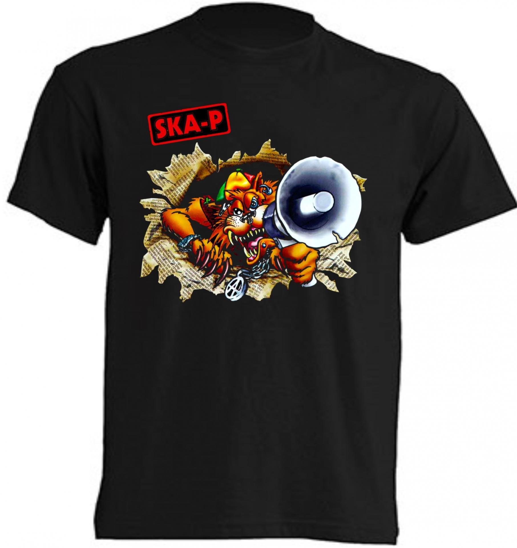 grupo ska-p camiseta española rock