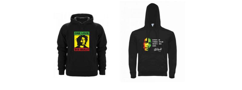 Sudaderas Bob Marley