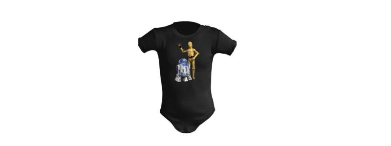Body Star Wars para bebe