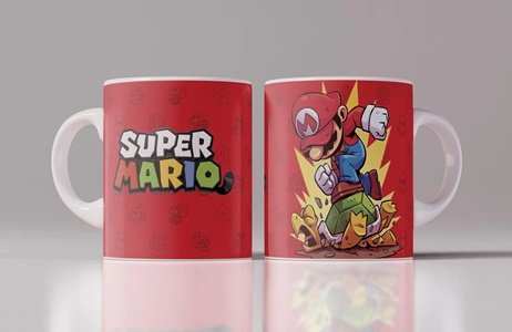 taza super mario bros