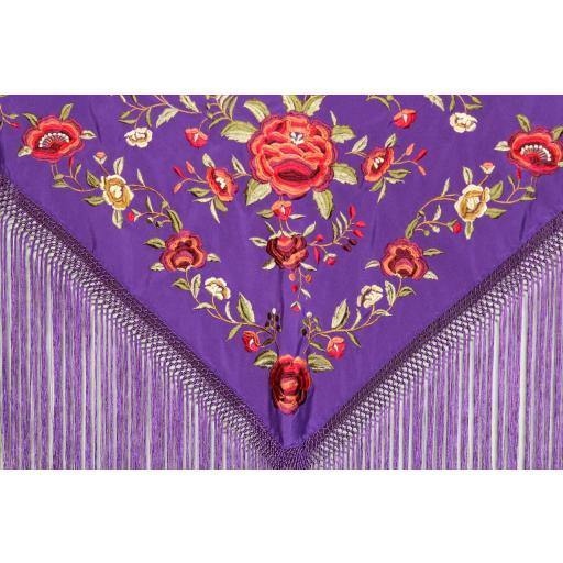 Morado Nazareno bordado en colores [1]