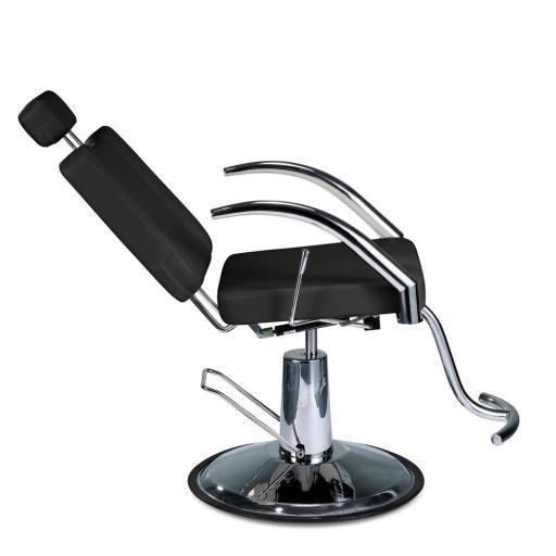 Sillón maquillaje barbero TRIDED BLACK [1]